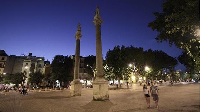 Alameda de Hércules. Imagen- ABC de Sevilla