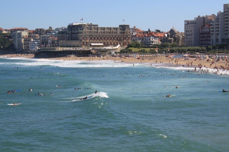 Surf en la Grand Plage (fb)
